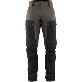 Fjällräven Keb Pantalones Hombre, negro/gris